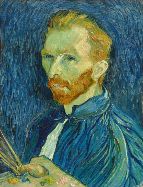 Art Prints of Self Portrait IX, 1889 by Vincent Van Gogh