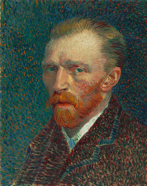 Art Prints of Self Portrait II by Vincent Van Gogh