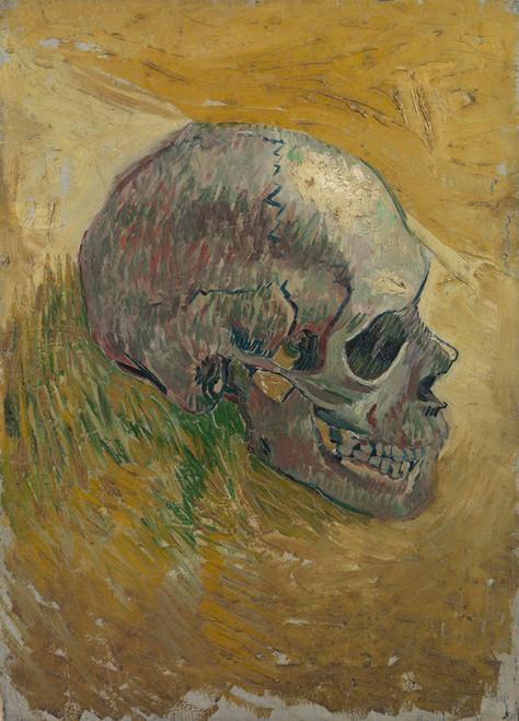 Art Prints of Skull, 1887 by Vincent Van Gogh