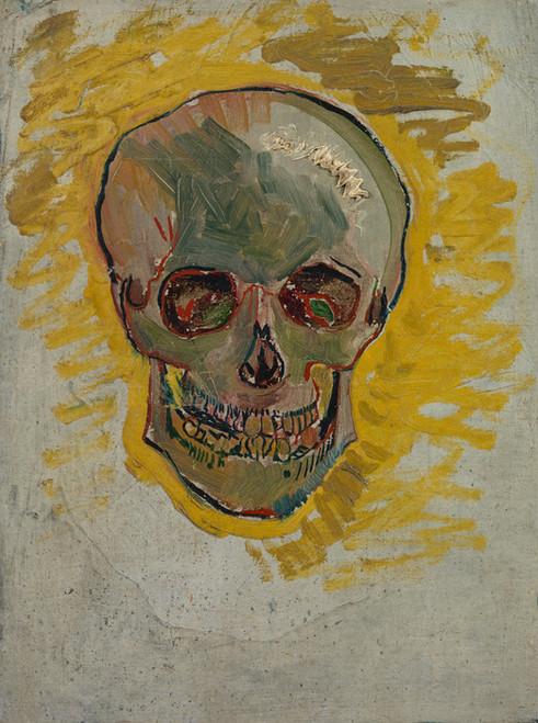 Art Prints of Skull II, 1887 by Vincent Van Gogh