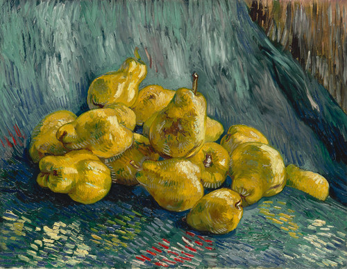 Art Prints of Still Life with Quinces by Vincent Van Gogh