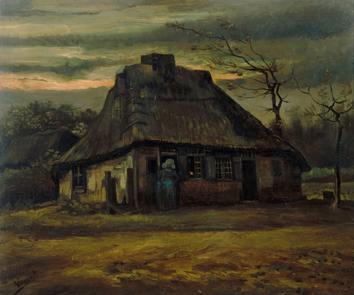 Art Prints of The Cottage by Vincent Van Gogh