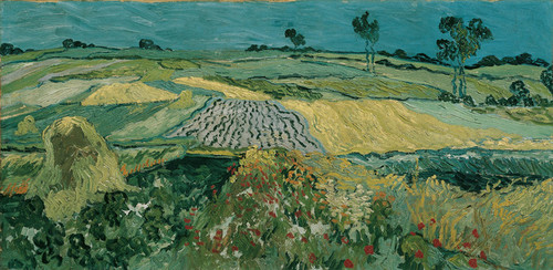 Art Prints of The Plain of Auvers by Vincent Van Gogh