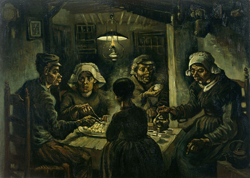 Art Prints of The Potato Eaters by Vincent Van Gogh