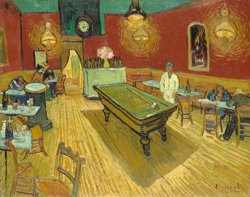 Art Prints of The Night Cafe by Vincent Van Gogh