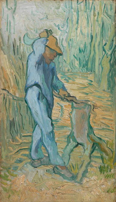 Art Prints of The Woodcutter (after Millet) by Vincent Van Gogh