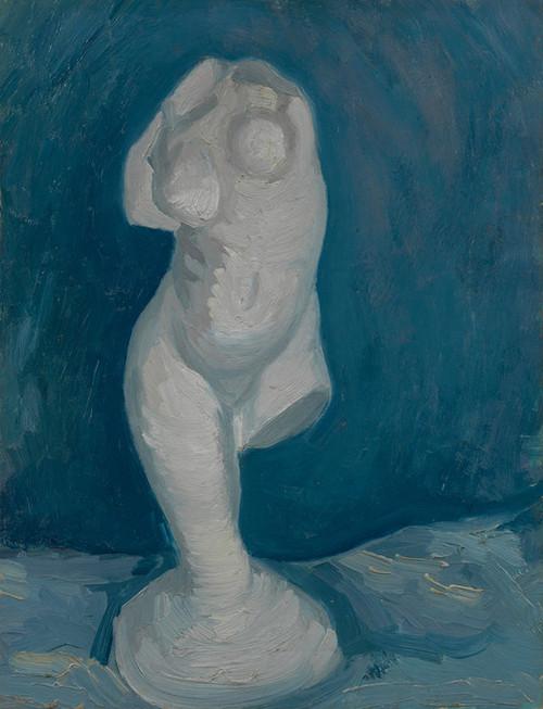 Art Prints of Torso of Venus III, 1886 by Vincent Van Gogh