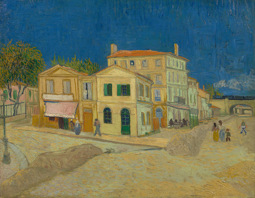 Art Prints of The Yellow House or The Street by Vincent Van Gogh
