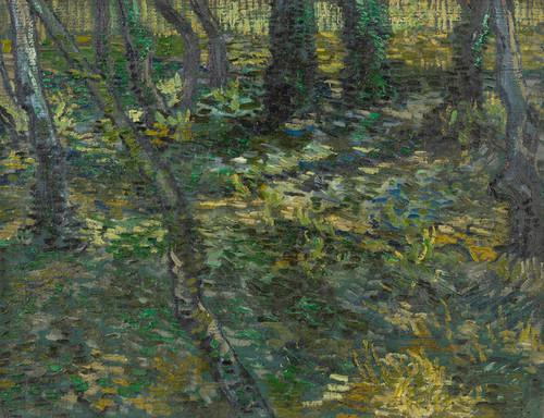 Art Prints of Undergrowth I, 1889 by Vincent Van Gogh