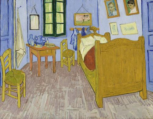 Art Prints of Van Gogh's Bedroom in Arles by Vincent Van Gogh