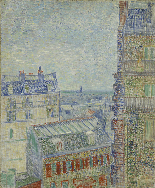 Art Prints of View from Theo's Apartment by Vincent Van Gogh