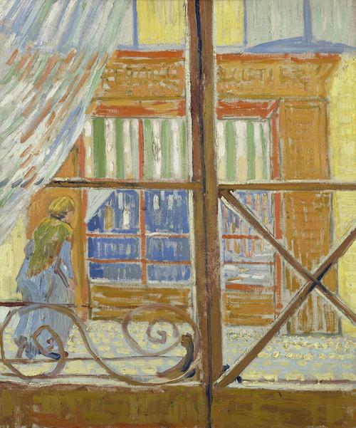 Art Prints of View of a Butcher's Shop by Vincent Van Gogh