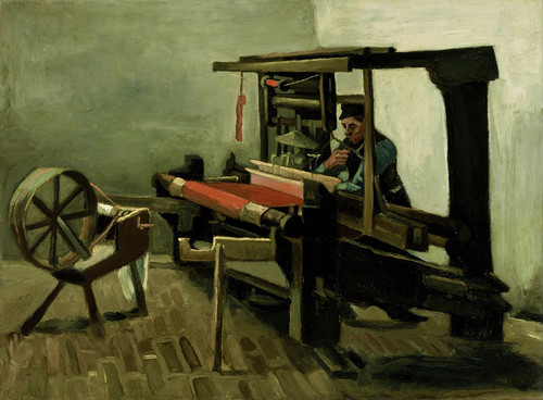 Art Prints of Weaver by Vincent Van Gogh