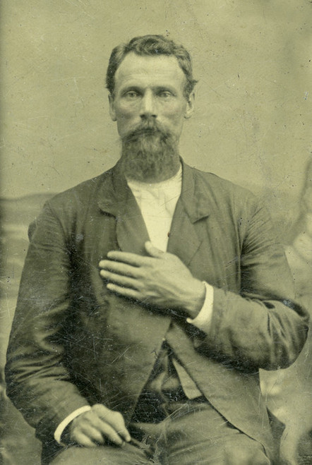 Art Prints of Portrait of a Soldier, Tintype 2, Vintage Tintype