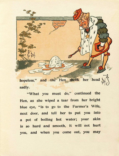 Art Prints of Humpty Dumpty, Page 5 by W.W. Denslow, Children's Book