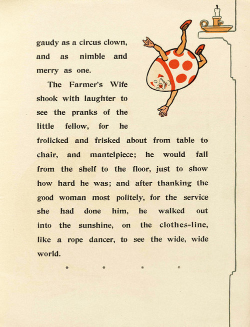 Art Prints of Humpty Dumpty, Page 9 by W.W. Denslow, Children's Book