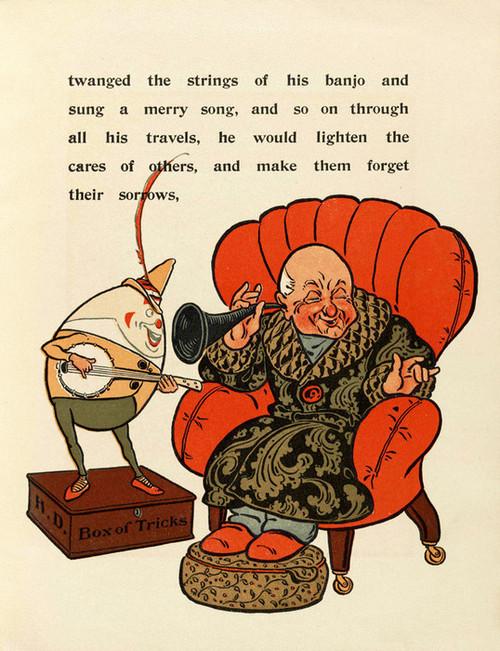 Art Prints of Humpty Dumpty, Page 13 by W.W. Denslow, Children's Book
