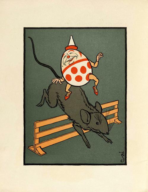Art Prints of Humpty Dumpty, Page 12 by W.W. Denslow, Children's Book