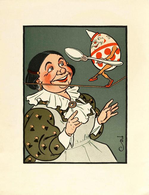 Art Prints of Humpty Dumpty, Page 10 by W.W. Denslow, Children's Book