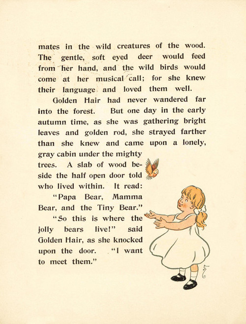 Art Prints of The Three Bears, Page 4 by W.W. Denslow, Children's Book