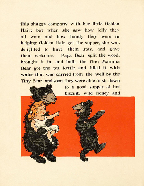 Art Prints of The Three Bears, Page 10 by W.W. Denslow, Children's Book