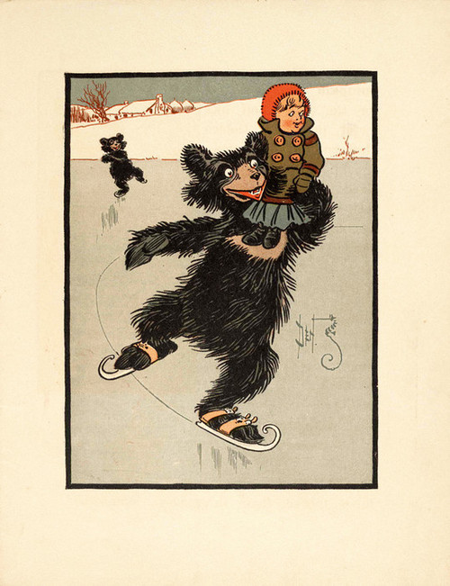 Art Prints of The Three Bears, Page 13 by W.W. Denslow, Children's Book