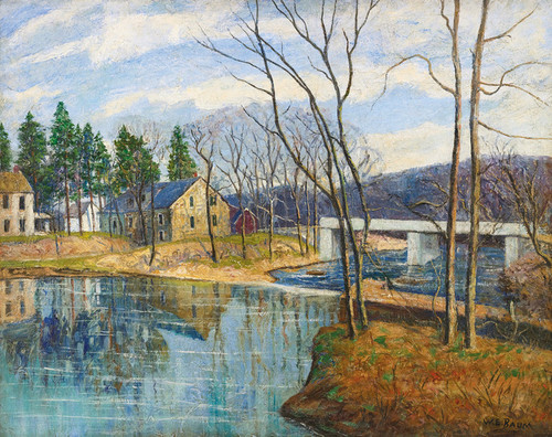 Art Prints of Pennsylvania Mill by Walter Baum