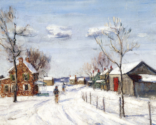 Art Prints of Road to Almont by Walter Baum