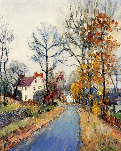 Art Prints of An Autumn Day by Walter Baum