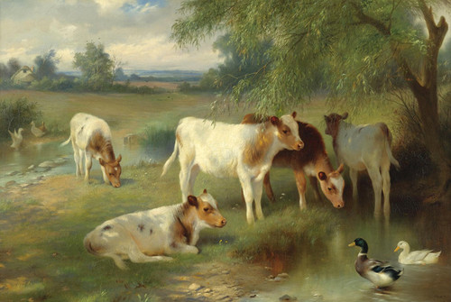 Art Prints of Summertime by Walter Hunt