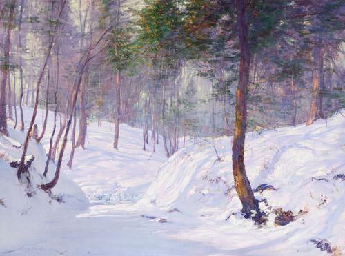 Art Prints of Slumbering Brook by Walter Launt Palmer