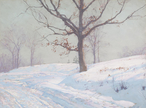 Art Prints of Lingering Leaves by Walter Launt Palmer