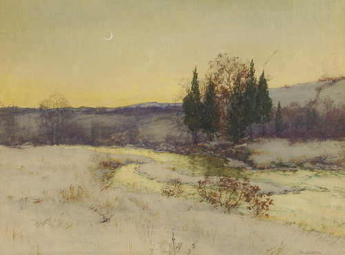 Art Prints of Study for March, Twilight by Walter Launt Palmer