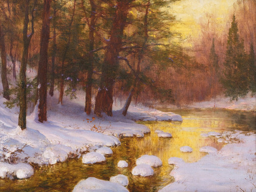 Art Prints of Woodland Stream by Walter Launt Palmer