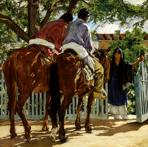 Art Prints of Callers by Walter Ufer
