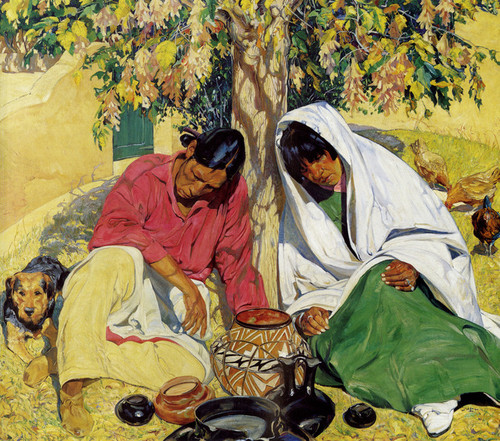 Art Prints of Autumn by Walter Ufer