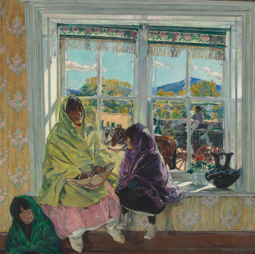 Art Prints of Luzanna and Her Sisters by Walter Ufer