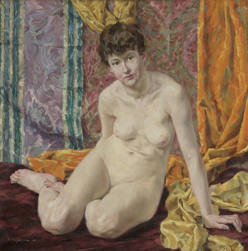 Art Prints of Nude by Walter Ufer