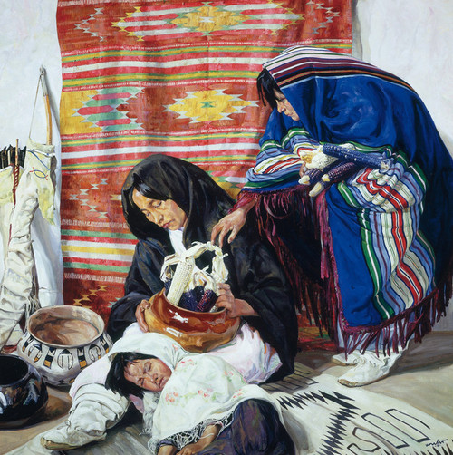 Art Prints of Sleep by Walter Ufer