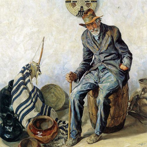 Art Prints of Manuel la Jeunesse by Walter Ufer