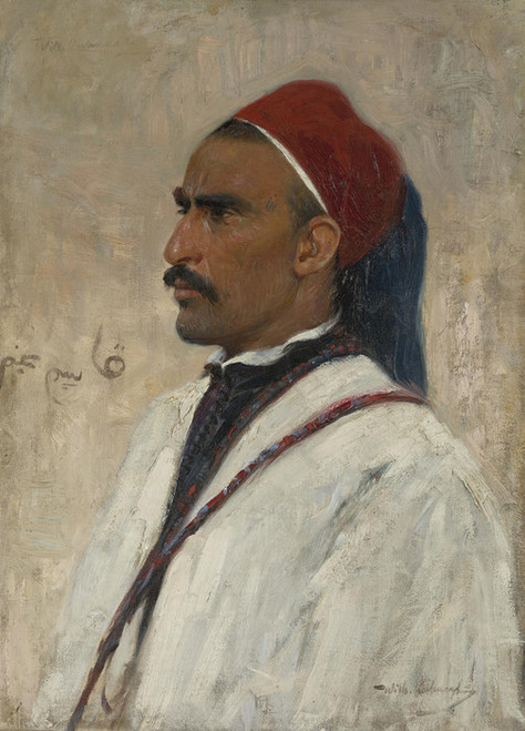 Art Prints of Portrait of an Arab by Wilhelm Kuhnert