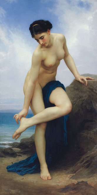 Art Prints of After the Bath by William Bouguereau
