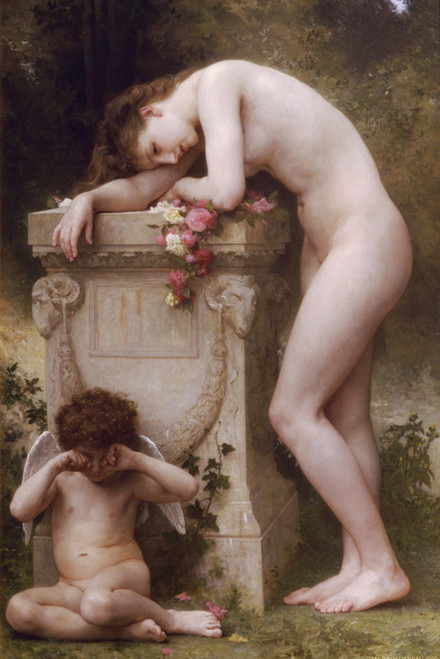 Art Prints of Elegy by William Bouguereau