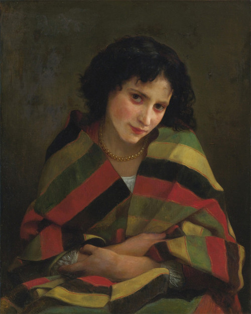 Art Prints of Frileuse by William Bouguereau
