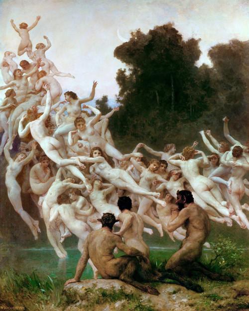 Art Prints of Les Oreades by William Bouguereau