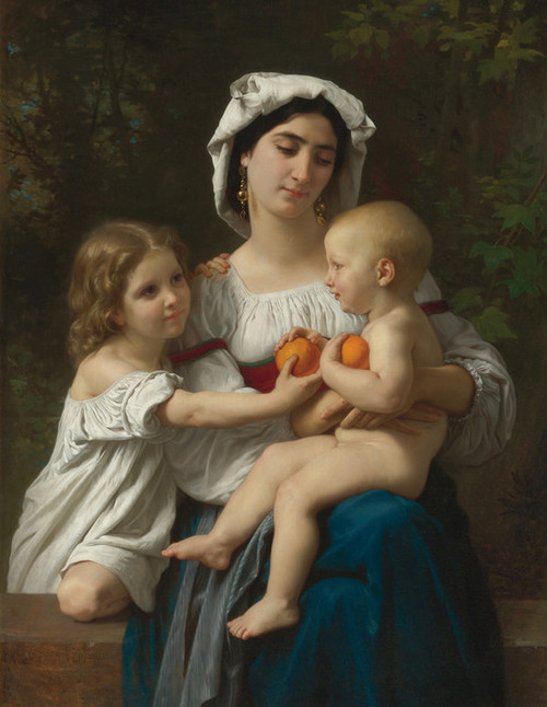 Art Prints of Oranges by William Bouguereau