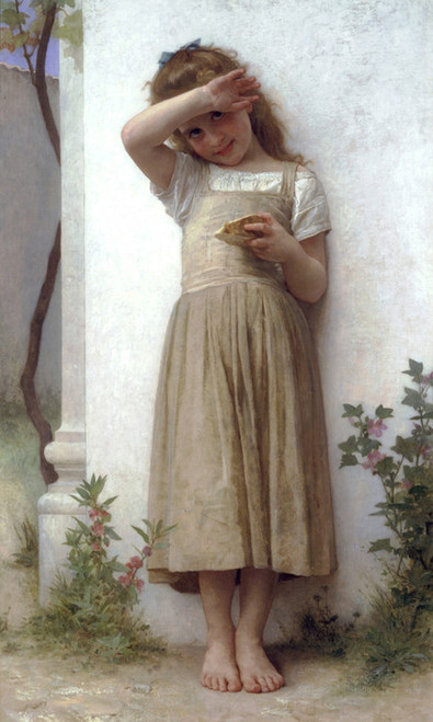 Art Prints of In Penitence by William Bouguereau