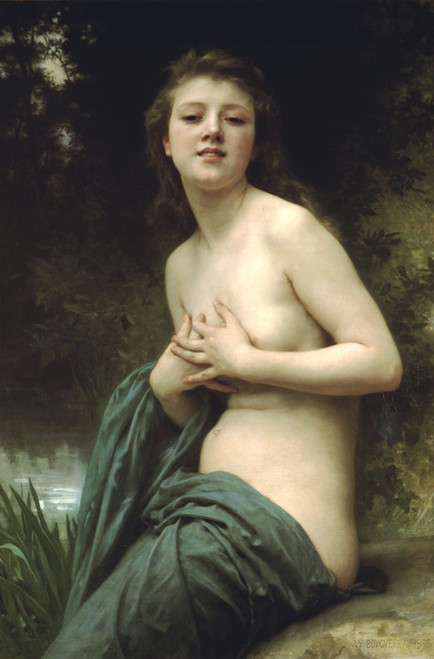 Art Prints of Spring Breeze by William Bouguereau