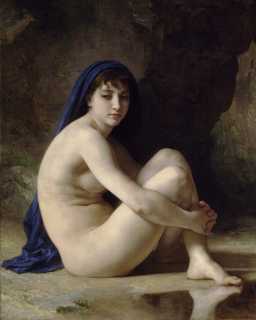Art Prints of Seated Nude by William Bouguereau