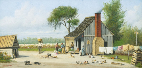 Art Prints of Bringing Home the Cotton by William Aiken Walker